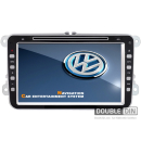 OEM Multimedia Double Din - DVD, GPS, TV for VW Golf / Passat, Seat, Skoda Octavia / Superb