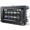 OEM Multimedia Double Din - DVD, GPS, TV for VW GOLF / POLO / PASSAT / JETTA, SEAT LEON / CUPRA