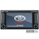 OEM Multimedia Double Din - DVD, GPS, TV for TOYOTA RAV4 / COROLLA / VIOS / HILUX