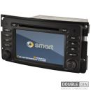 OEM Multimedia Double Din - DVD, GPS, TV for SMART FORTWO