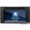 OEM Multimedia Double Din - DVD, GPS, TV for PEUGEOT 307 / 3008