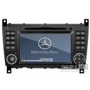 OEM Multimedia Double Din - DVD, GPS, TV for MERCEDES-BENZ C Class