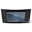 OEM Multimedia Double Din - DVD, GPS, TV for MERCEDES-BENZ E Class