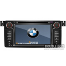 OEM Multimedia Double Din - DVD, GPS, TV for BMW E46 / X3 / Z3 / Z4 2
