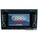 OEM Multimedia Double Din - DVD, GPS, TV for AUDI A4 / S4 / RS4