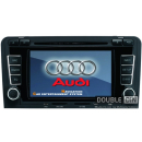 OEM Multimedia Double Din - DVD, GPS, TV for AUDI A3 / S3 / RS3