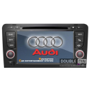 OEM Multimedia Double Din - DVD, GPS, TV for AUDI A3 / S3 / RS3 2