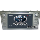 """OEM Multimedia Double Din - DVD, GPS, TV for Toyota Camry 8"""""""