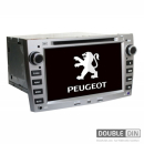 OEM Multimedia Double Din - DVD, GPS, TV for Peugeot 308 408 2