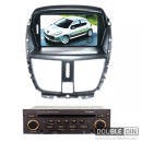 OEM Multimedia Double Din - DVD, GPS, TV for Peugeot 207