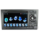 OEM Multimedia Double Din - DVD, GPS, TV for Audi A4