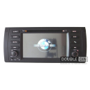 OEM Multimedia Double Din - DVD, GPS, TV for BMW X5 / E38 / E39