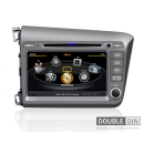 OEM Multimedia Double Din - DVD, GPS, TV for HONDA CIVIC 2012