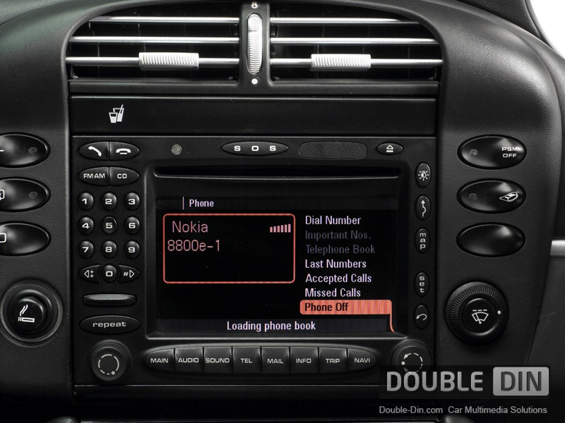 Using A Phone For A Cars Hid Display