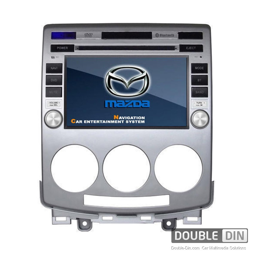 oem multimedia double din dvd gps tv for mazda 5. Black Bedroom Furniture Sets. Home Design Ideas