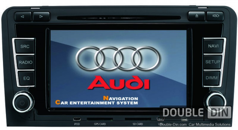 Pin multimedia audi a3 8p 03 07 602 70eur on pinterest for Mueble 2 din audi a3