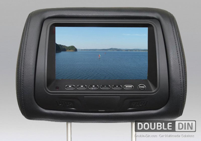Headrest Monitor - Two pieces