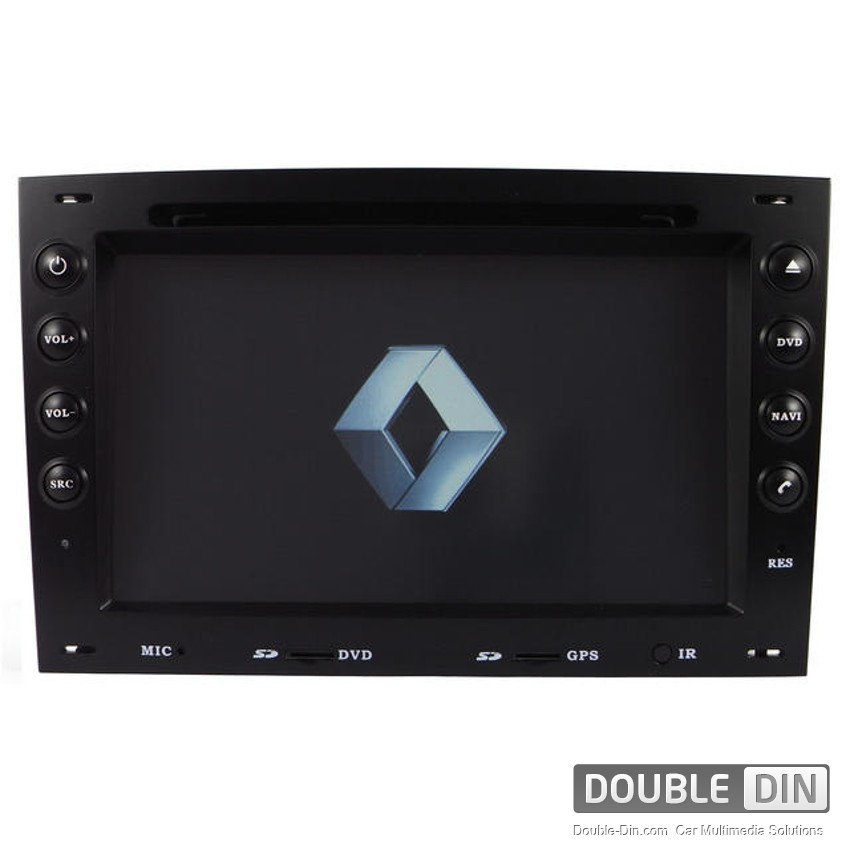 OEM Multimedia Double Din - DVD, GPS, TV for Renault Megane
