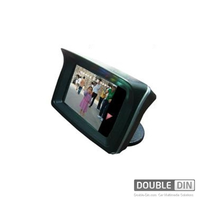 "2.3"" LCD display parktronic system, camera with IR and 4 sensors"