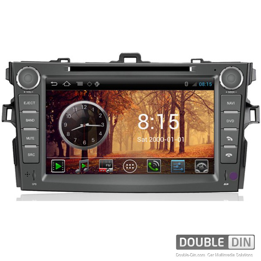 OEM Multimedia Double Din - DVD, GPS, TV for TOYOTA COROLLA