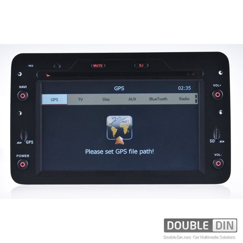 OEM Multimedia Double Din - DVD, GPS, TV for ALFA ROMEO 159