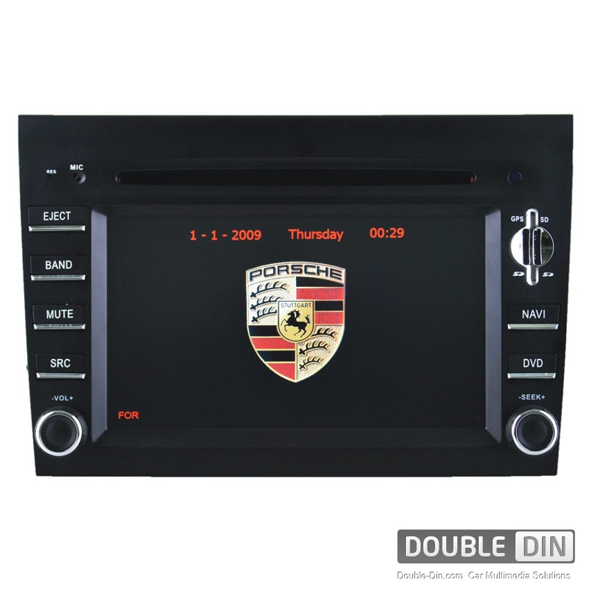 OEM Multimedia Double Din - DVD, GPS, TV for Porsche 911 997/BOXTER/CAYMAN