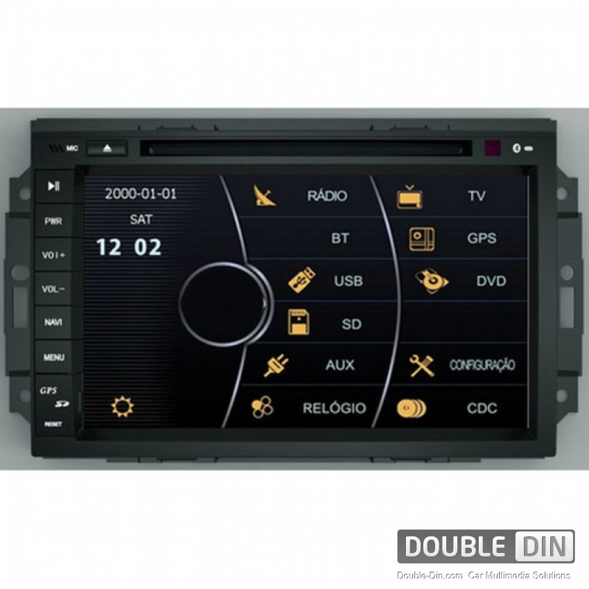 OEM Multimedia Double Din - DVD, GPS, TV for Jeep Grand Cherokee