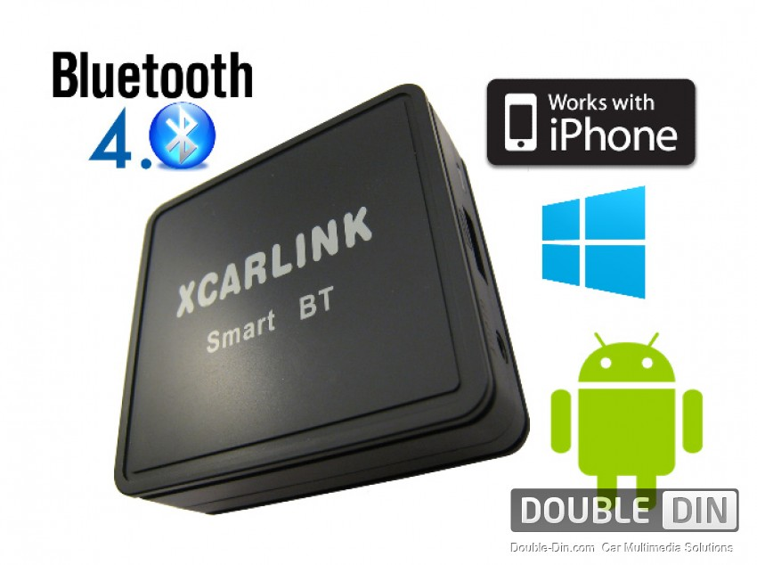 XCarLink Wireless Bluetooth Interface for Handsfree Calls and Music Streaming - Peugeot