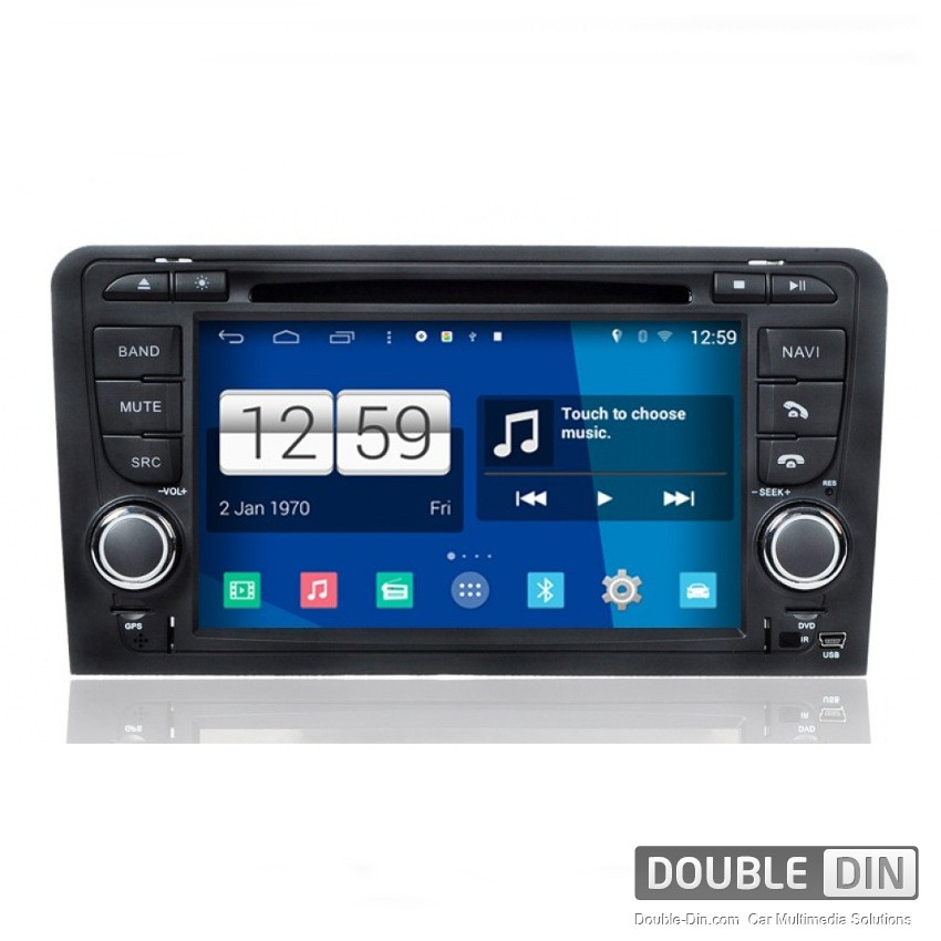 Navigation / Multimedia Head unit with Android for Audi A3/S3 - DD-M049