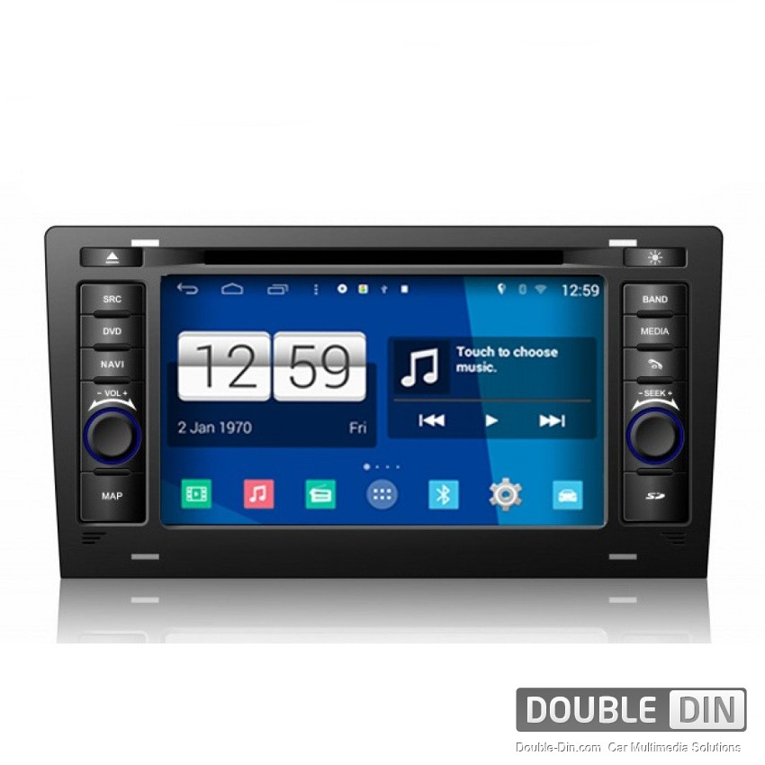 Navigation / Multimedia Head unit with Android for Audi A8/S8 - DD-M221