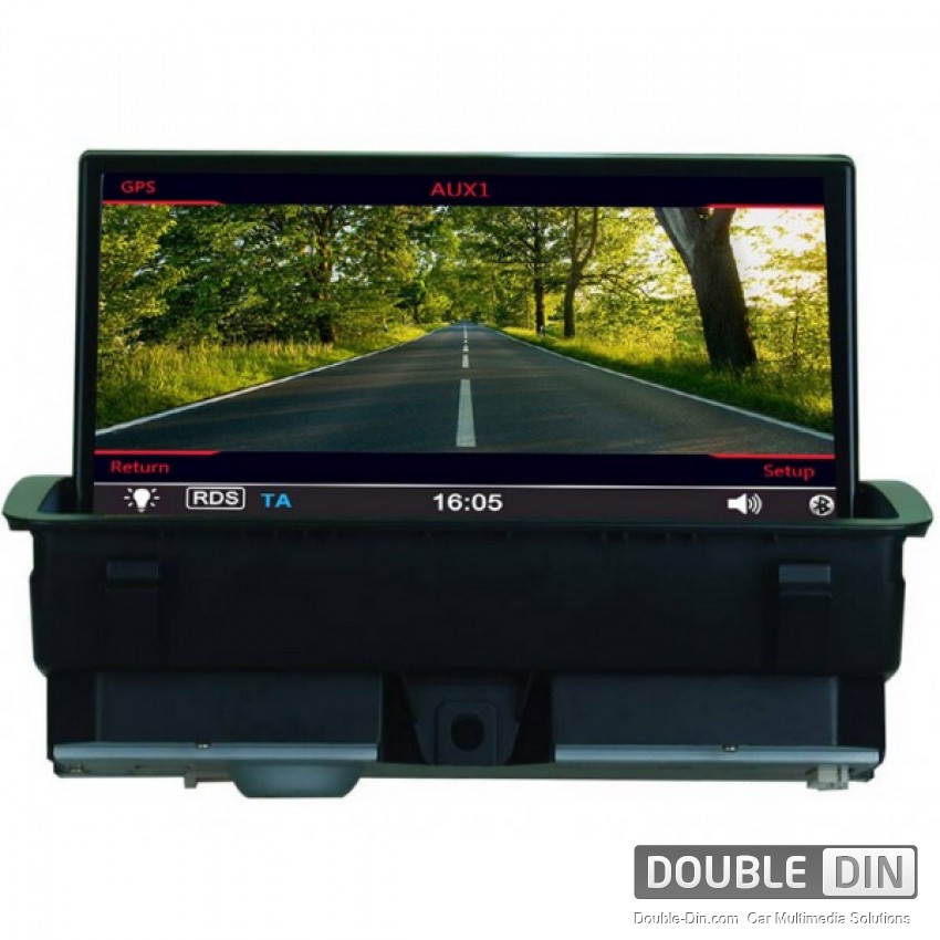 oem multimedia double din dvd gps tv for audi a1. Black Bedroom Furniture Sets. Home Design Ideas