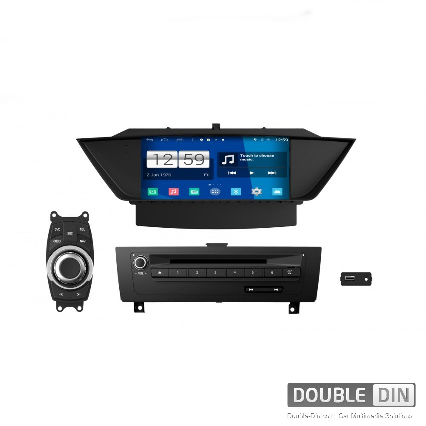 Navigation / Multimedia Head unit with Android for BMW X1 E84 - DD-M219