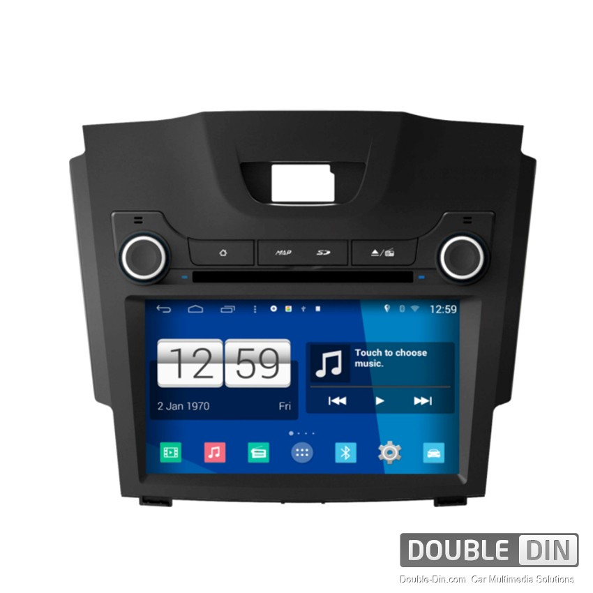 Navigation / Multimedia Head unit with Android for Chevrolet Colorado,S10  - DD-M435