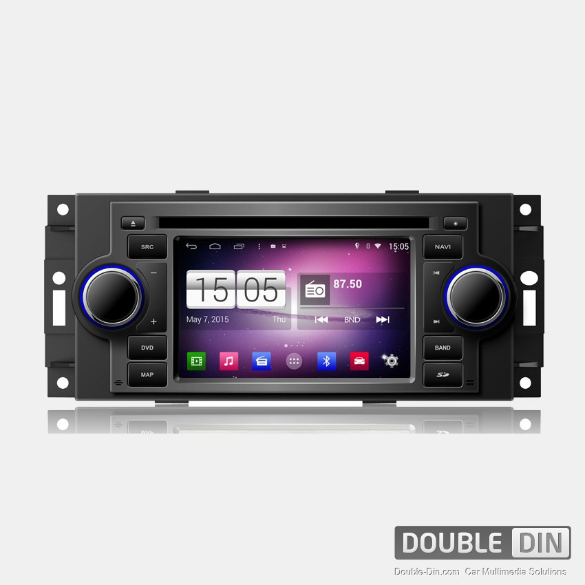 Navigation / Multimedia Head unit with Android for Chrysler 300C, Jeep Grand Cherokee  - DD-M206