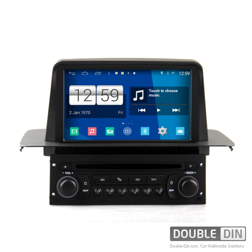 Navigation / Multimedia Head unit with Android for Citroen C3  - DD-M316