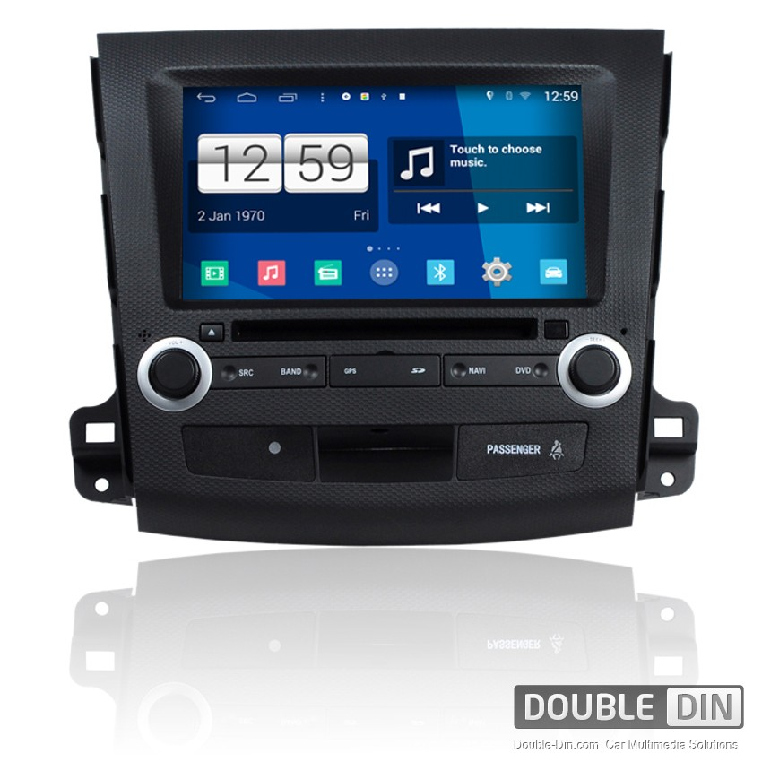 Navigation / Multimedia Head unit with Android for Peugeot 4007  - DD-M056