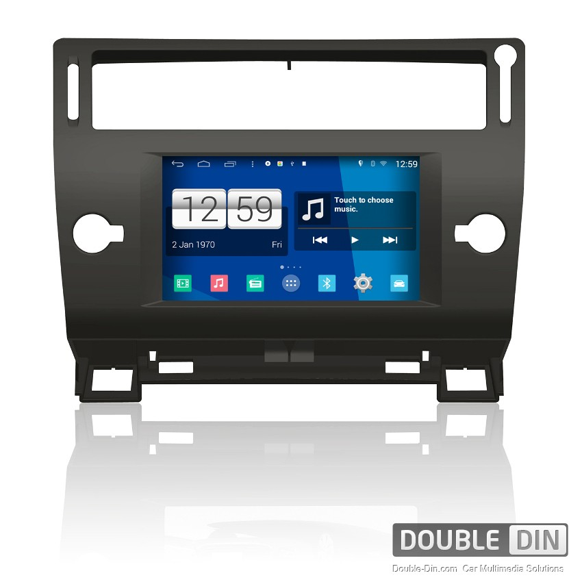 navigation multimedia head unit with android for citroen c4 dd m088. Black Bedroom Furniture Sets. Home Design Ideas