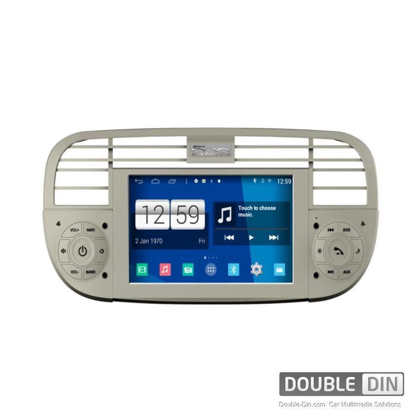 navigation multimedia head unit with android for fiat f500 dd m315. Black Bedroom Furniture Sets. Home Design Ideas