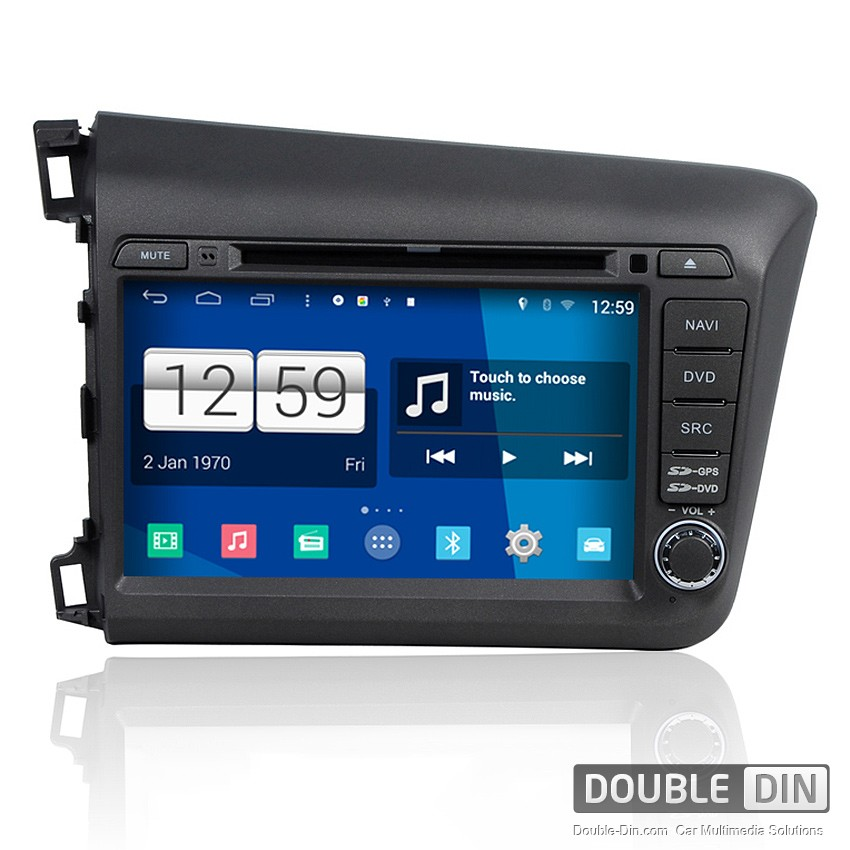 Navigation / Multimedia Head unit with Android for Honda Civic - DD-M132
