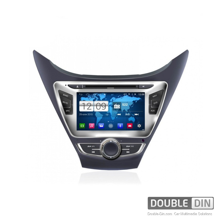 Navigation / Multimedia Head unit with Android for Hyundai Elantra - DD-M092-2