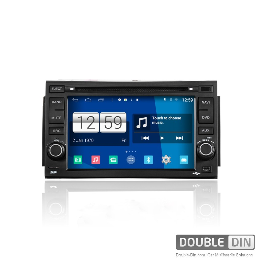 Navigation / Multimedia Head unit with Android for Hyundai Azera - DD-M006