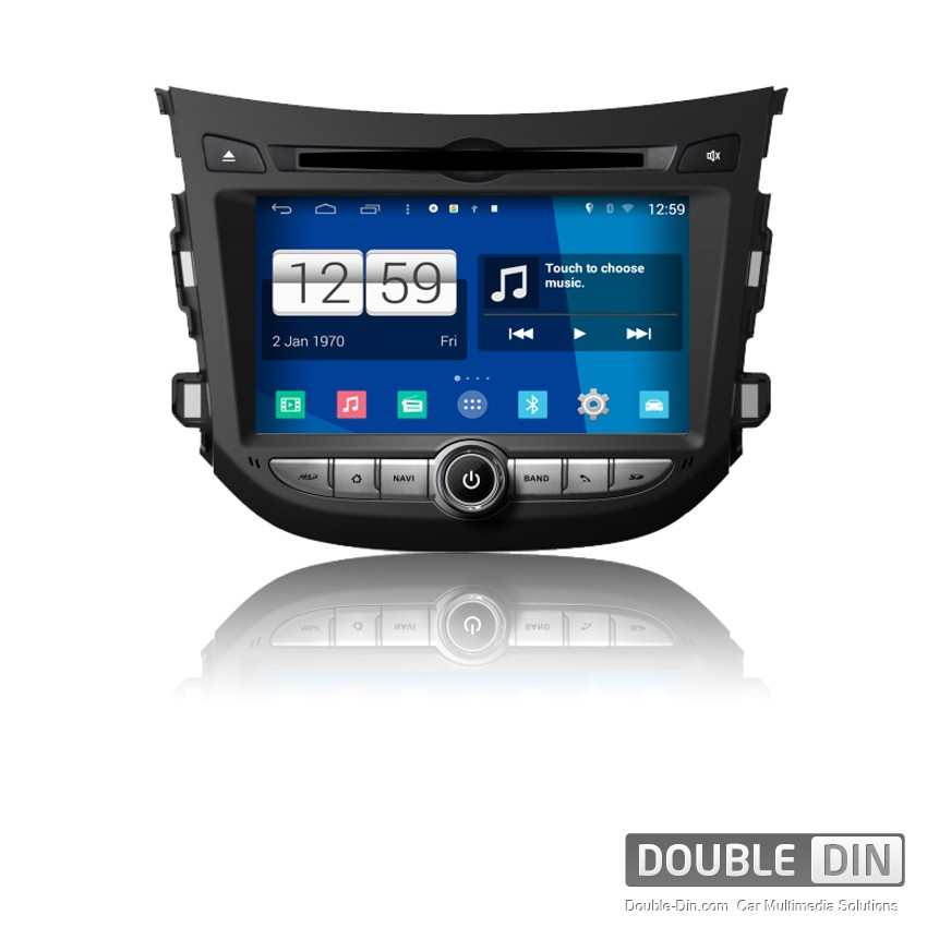 Navigation / Multimedia Head unit with Android for Hyundai HB20 - DD-M239