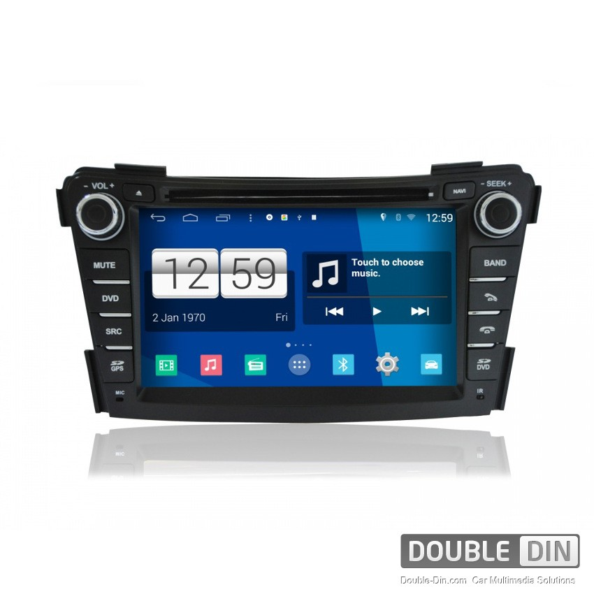 Navigation / Multimedia Head unit with Android for Hyundai I40 - DD-M172