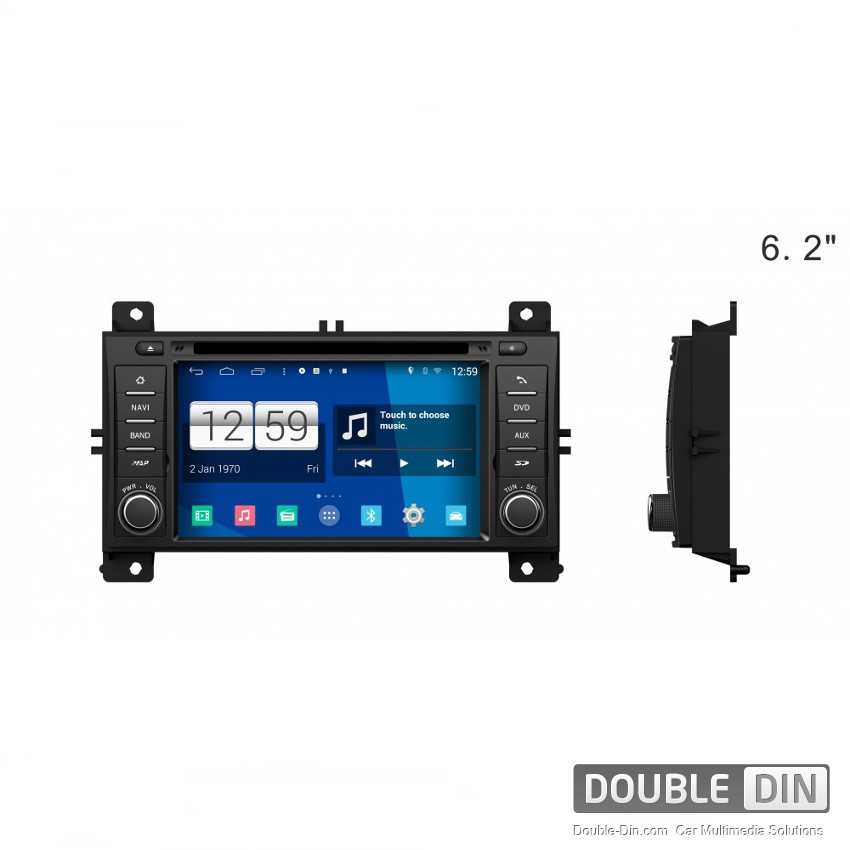 Navigation / Multimedia Head unit with Android for Jeep Grand Cherokee - DD-M263