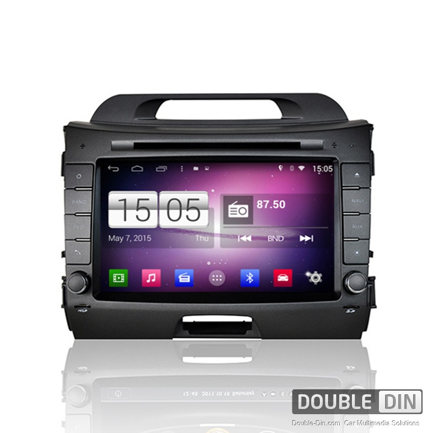 Navigation / Multimedia Head unit with Android for Kia Sportage - DD -M325