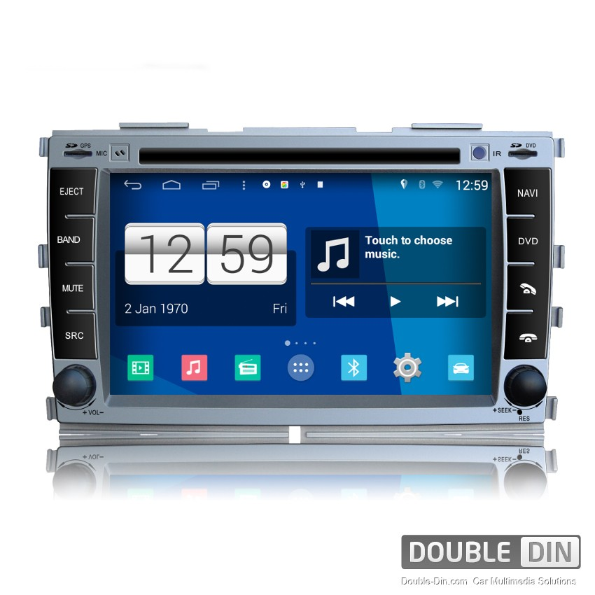 Navigation / Multimedia Head unit with Android for Kia Forte, Cerato - DD -M038