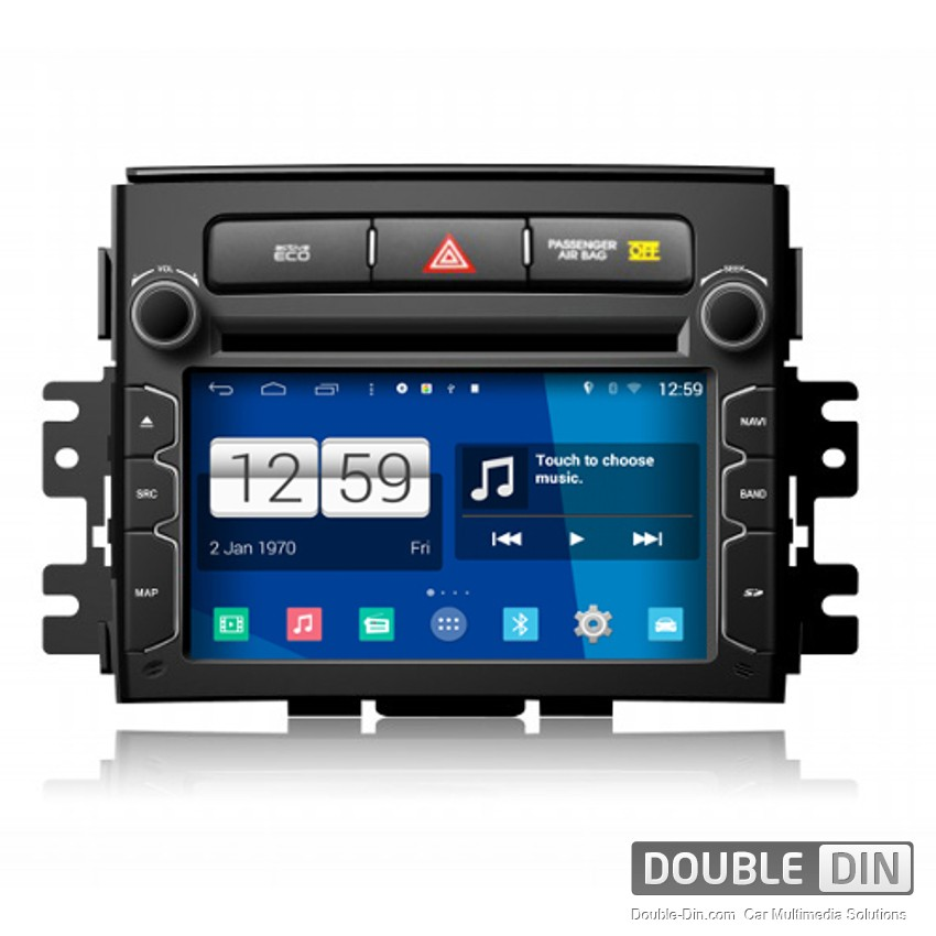 Navigation / Multimedia Head unit with Android for Kia Soul - DD -M218