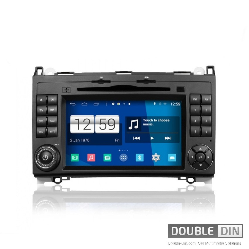 Navigation / Multimedia Head unit with Android for Mercedes A-class, B-class - DD-M068