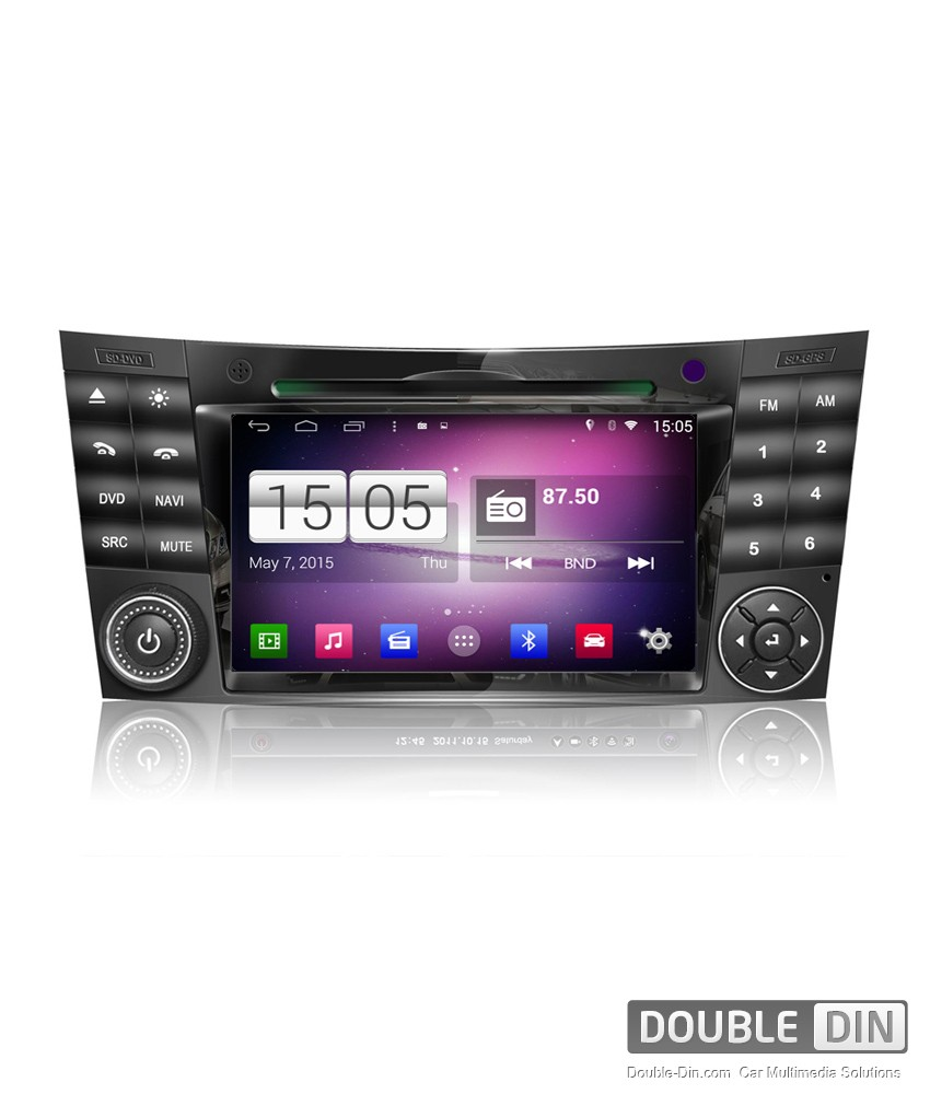 Navigation / Multimedia Head unit with Android for Mercedes E-class W211, CLS W219  - DD-M090