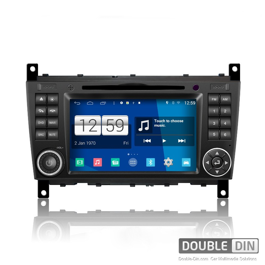 Navigation / Multimedia Head unit with Android for Mercedes C-class W203, G-class W467 - DD-M093